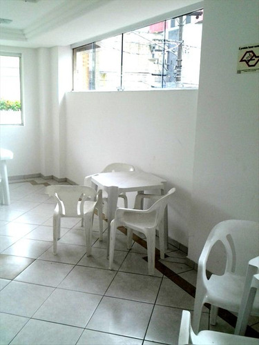 ref.: 1271 - apartamento em praia grande, no bairro guilhermina - 2 dormitórios