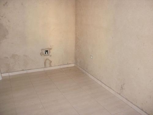 ref.: 127500 - casa em praia grande, no bairro vila mirim - 2 dormitórios