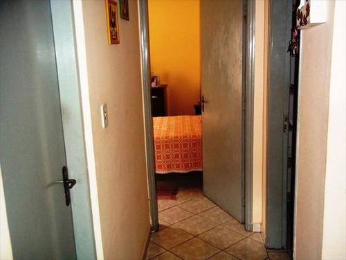 ref.: 1280500 - casa em praia grande, no bairro guilhermina - 2 dormitórios