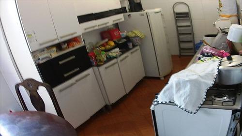 ref.: 1283 - casa em praia grande, no bairro campo aviacao - 2 dormitórios
