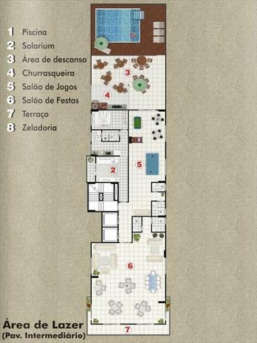 ref.: 1284 - apartamento em praia grande, no bairro aviacao - 2 dormitórios