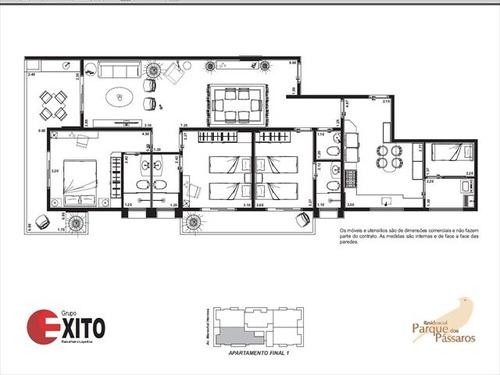 ref.: 1286 - apartamento em praia grande, no bairro canto do forte - 3 dormitórios