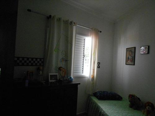 ref.: 129200 - casa em praia grande, no bairro vila tupi - 2 dormitórios