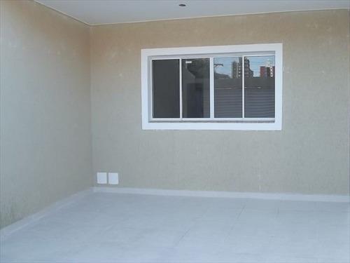 ref.: 129501 - casa em praia grande, no bairro canto do forte - 2 dormitórios