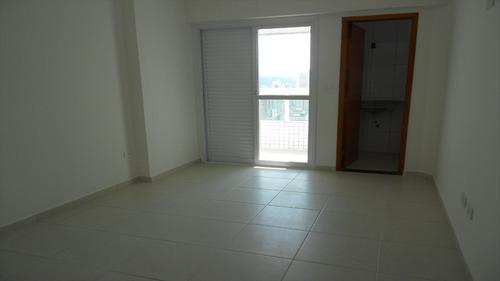 ref.: 1298 - apartamento em praia grande, no bairro vila guilhermina - 2 dormitórios
