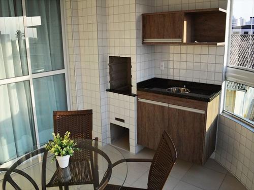 ref.: 1299 - apartamento em praia grande, no bairro guilhermina - 3 dormitórios