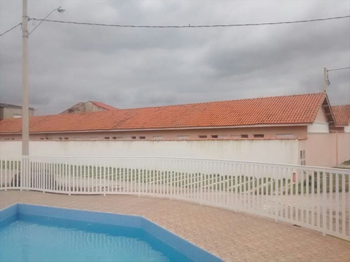 ref.: 13 - casa condomínio fechado em itanhaem, no bairro umuarama - 2 dormitórios