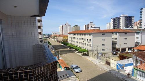 ref.: 1307 - apartamento em praia grande, no bairro vila guilhermina - 2 dormitórios