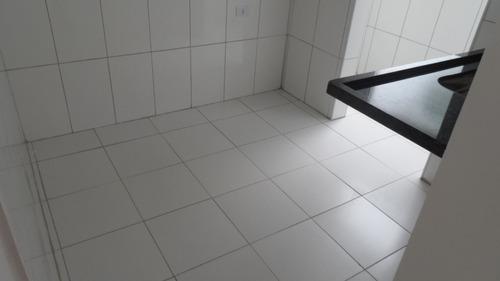 ref.: 1311 - casa condomínio fechado em praia grande, no bairro vila guilhermina - 2 dormitórios