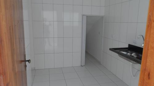 ref.: 1312 - casa condomínio fechado em praia grande, no bairro vila guilhermina - 2 dormitórios