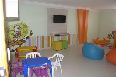 ref.: 1315 - apartamento em praia grande, no bairro vila guilhermina - 2 dormitórios