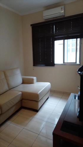 ref.: 1317 - apartamento em praia grande, no bairro vila guilhermina - 2 dormitórios