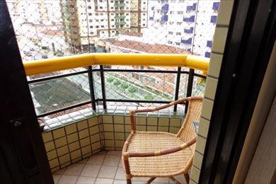 ref.: 1324 - apartamento em praia grande, no bairro canto do forte - 2 dormitórios