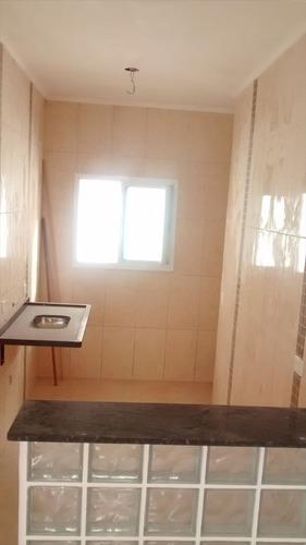 ref.: 1331 - casa condomínio fechado em praia grande, no bairro campo aviacao - 2 dormitórios