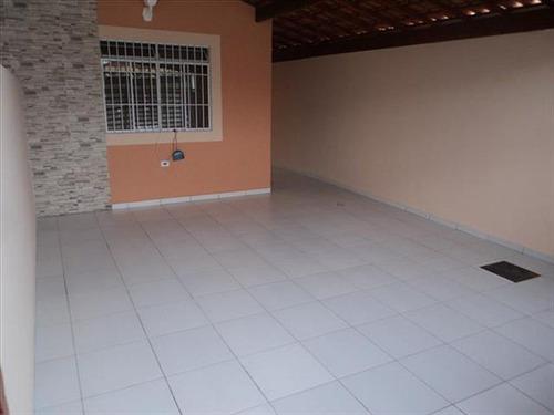 ref.: 1337 - casa em praia grande, no bairro guilhermina - 2 dormitórios