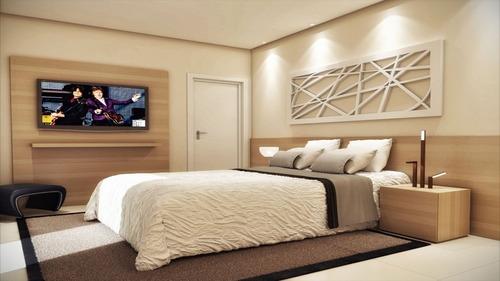 ref.: 1339 - apartamento em praia grande, no bairro campo aviacao - 2 dormitórios