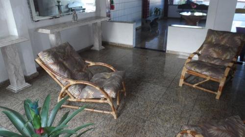 ref.: 1349 - apartamento em praia grande, no bairro vila guilhermina - 2 dormitórios