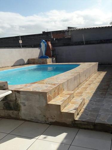 ref.: 135 - casa em mongagua, no bairro itaguai - 2 dormitórios