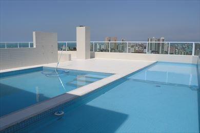 ref.: 1360 - apartamento em praia grande, no bairro forte - 3 dormitórios