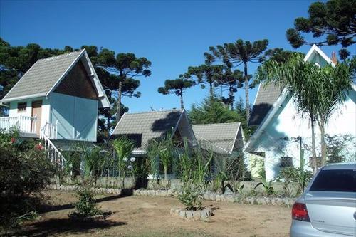 ref.: 1361 - casa em campos do jordão, no bairro sobre as nuvens - 5 dormitórios