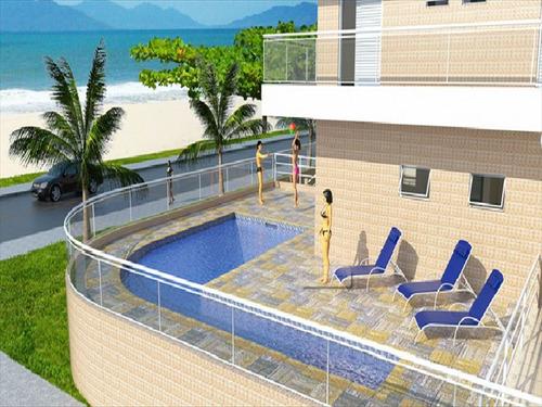 ref.: 137 - apartamento em bertioga, no bairro indaia - 2 dormitórios