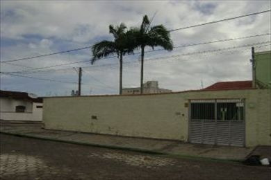 ref.: 13700 - casa em praia grande, no bairro vilamar - 3 dormitórios