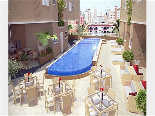 ref.: 1371 - apartamento em praia grande, no bairro canto do forte - 2 dormitórios
