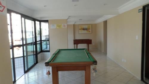ref.: 1371 - apartamento em praia grande, no bairro vila guilhermina - 1 dormitórios