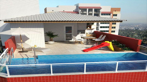 ref.: 1373 - apartamento em praia grande, no bairro jardim real - 1 dormitórios