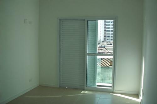 ref.: 1391 - casa em praia grande, no bairro vila guilhermina - 2 dormitórios