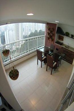 ref.: 13961 - apartamento em sao paulo, no bairro morumbi - 3 dormitórios