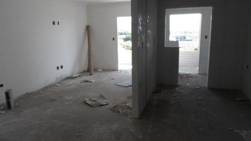 ref.: 1399 - apartamento em praia grande, no bairro vila guilhermina - 2 dormitórios