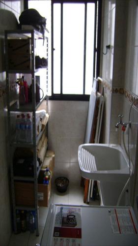 ref.: 140 - apartamento em praia grande, no bairro forte - 2 dormitórios