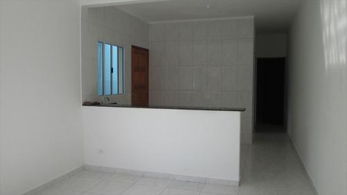 ref.: 140 - casa em itanhaém, no bairro jardim são fernando - 2 dormitórios