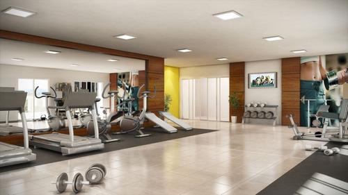 ref.: 1402 - apartamento em praia grande, no bairro vila guilhermina - 2 dormitórios