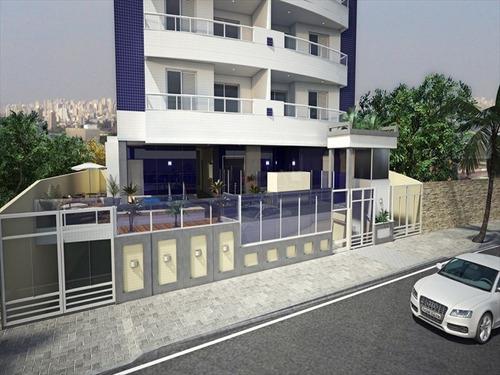 ref.: 1406 - apartamento em praia grande, no bairro aviacao - 2 dormitórios