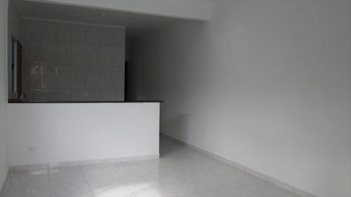 ref.: 14100 - casa em itanhaém, no bairro jardim são fernando - 2 dormitórios