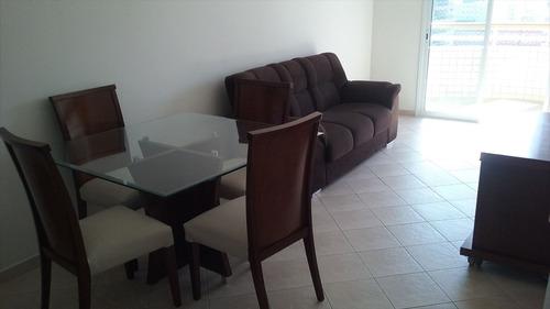 ref.: 1416 - apartamento em praia grande, no bairro vila tupi - 2 dormitórios