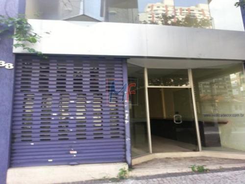 ref 1416- loja com 125 m2 , muito bem localizada a 200 m.da av rebouças e próximo a av paulista! está locada por r$ 6.500,00 até 2021. - 1416