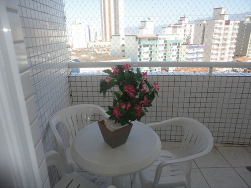 ref.: 1416100 - apartamento em praia grande, no bairro mirim - 1 dormitórios