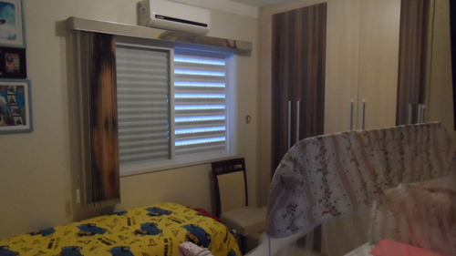 ref.: 1417 - apartamento em praia grande, no bairro vila guilhermina - 2 dormitórios