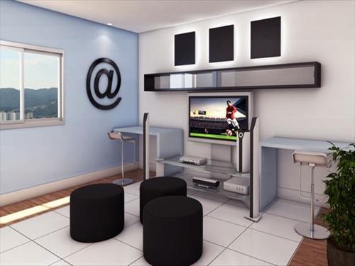 ref.: 1419600 - apartamento em praia grande, no bairro guilhermina - 2 dormitórios