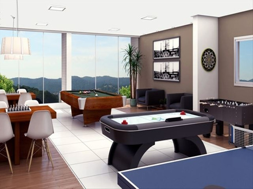 ref.: 1419800 - apartamento em praia grande, no bairro guilhermina - 1 dormitórios