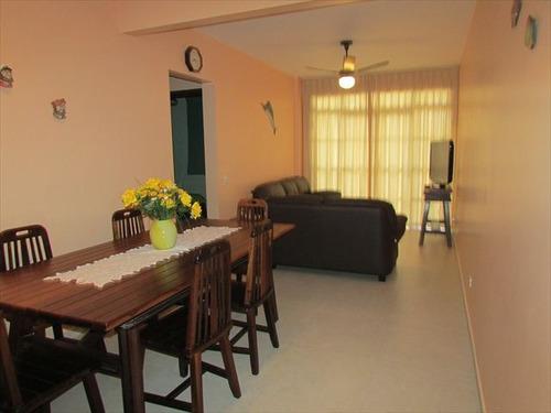 ref.: 142401 - apartamento em praia grande, no bairro guilhermina - 2 dormitórios
