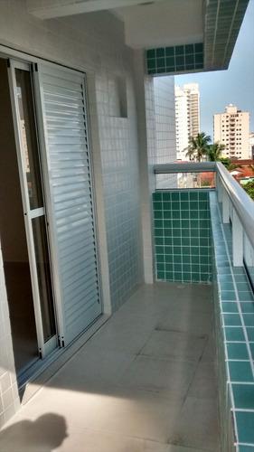 ref.: 1429 - apartamento em praia grande, no bairro campo aviacao - 2 dormitórios