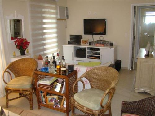 ref.: 143301 - apartamento em santos, no bairro campo grande - 3 dormitórios