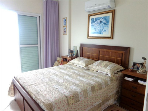 ref.: 1450 - apartamento em praia grande, no bairro guilhermina - 2 dormitórios