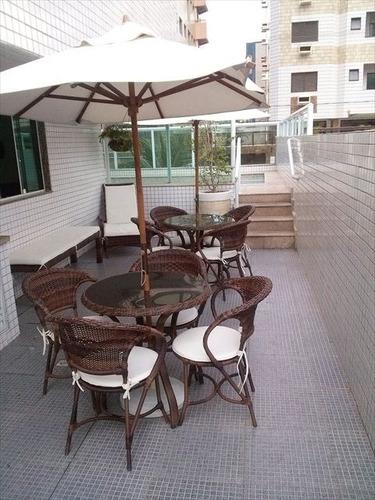 ref.: 145001 - apartamento em praia grande, no bairro tupi - 2 dormitórios