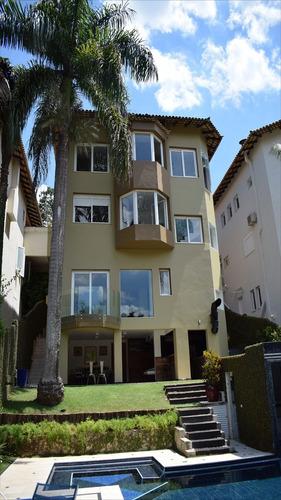 ref.: 14515 - casa condomínio fechado em sao paulo, no bairro fazenda morumbi - 3 dormitórios