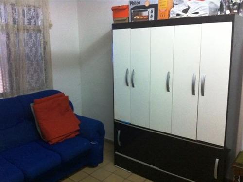 ref.: 1451600 - casa em praia grande, no bairro boqueirao - 2 dormitórios
